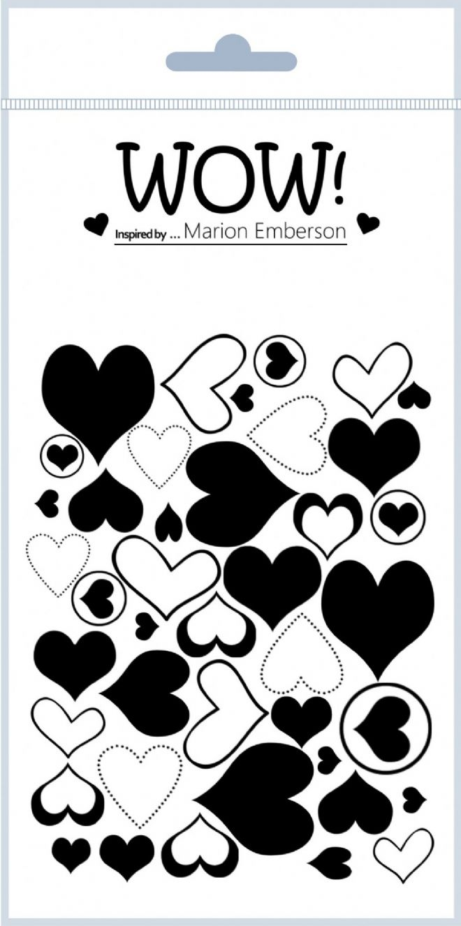 J'adore (by Marion Emberson) - Clear Stamp Set